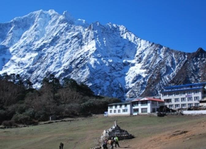 Everest base camp Trek- Tengboche mountain Lodge