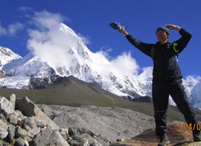 Everest base camp Trek- on the way to Everest base camp