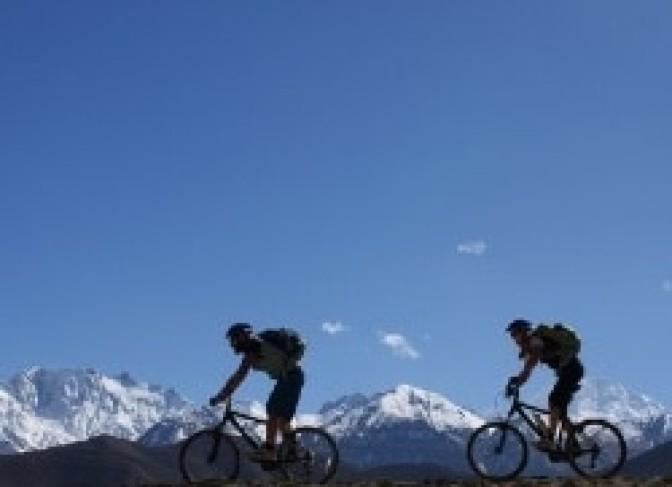 Annapruna circuit mountain bike tour