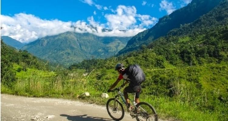 Annapurna circuit mountain bike