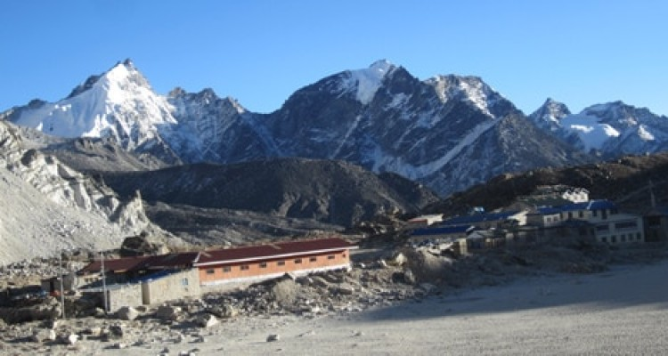 Everest base camp Trek- Gorakha shep Lodge