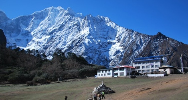 Everest base camp Trek- Tengboche mountain Lodge