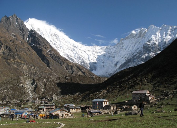 Langtang valley trekking picture