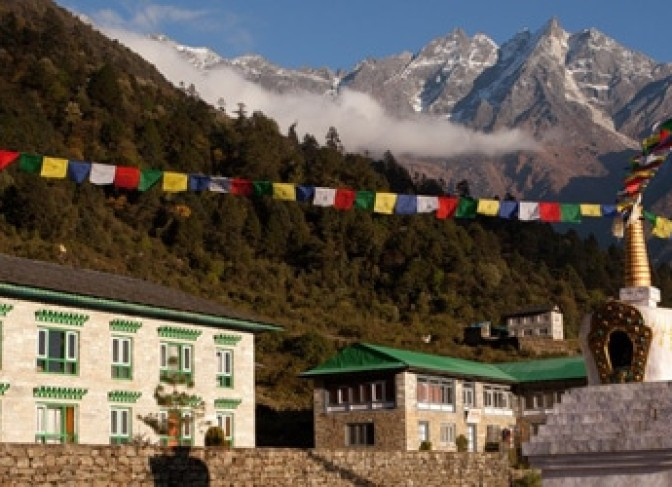 Mt Everest luxury lodge trek