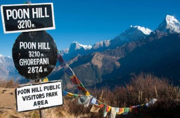 poon hill, ghorepani, annapurna base camp