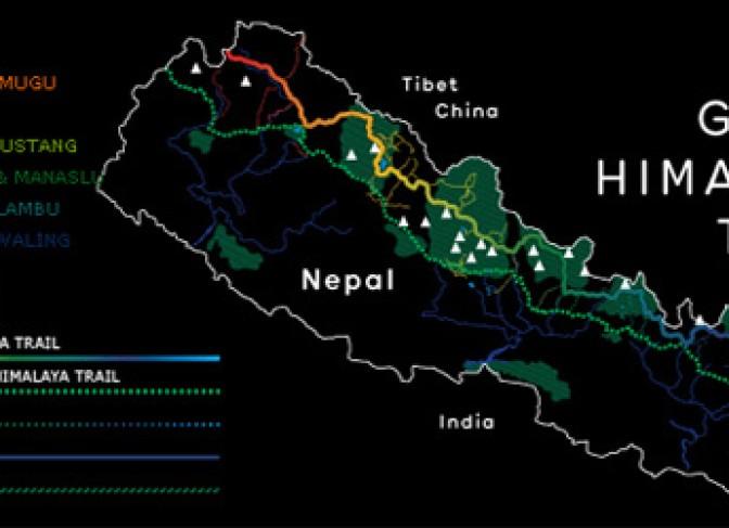 Great Himalaya trek himalayas