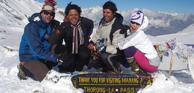 Manaslu Annapurna circuit Trek