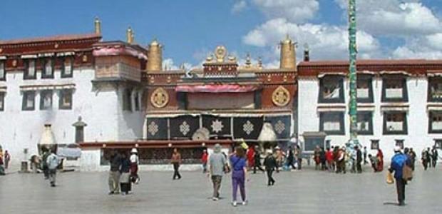 Glimpse of Lhasa Tibet