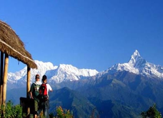 Family holiday tour packages Nepal-Pokhara