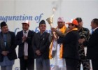 President launches Visit Lumbini Year 2012