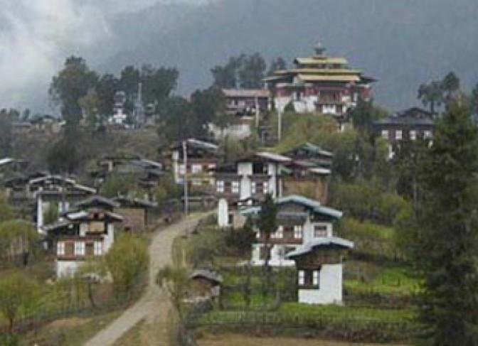 gangtey bhutan trekking