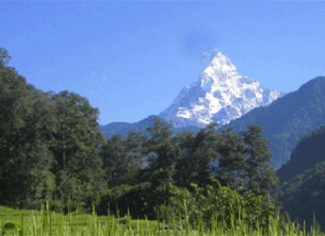 machhapuchhre trekking Annapurna