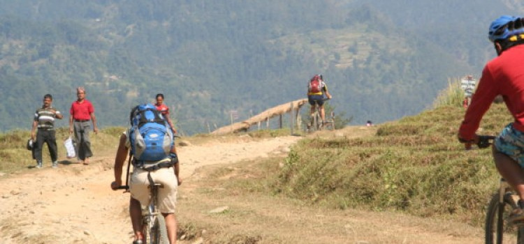 day mountain biking Nepal