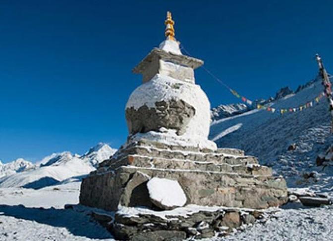 Rolwaling Trekking stupa