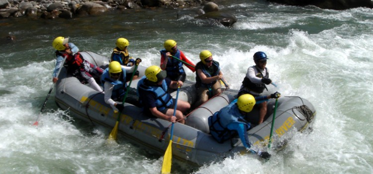 day river rafting