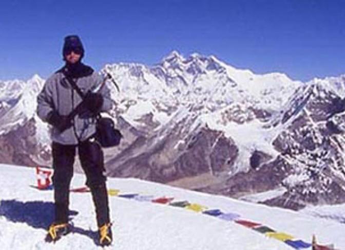 mera peak climbing start from Lukla