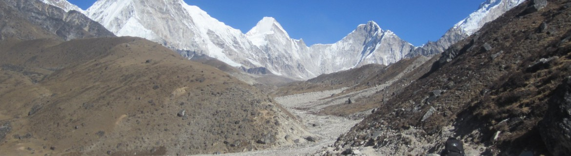 Everest base camp trek -base camp to Everest