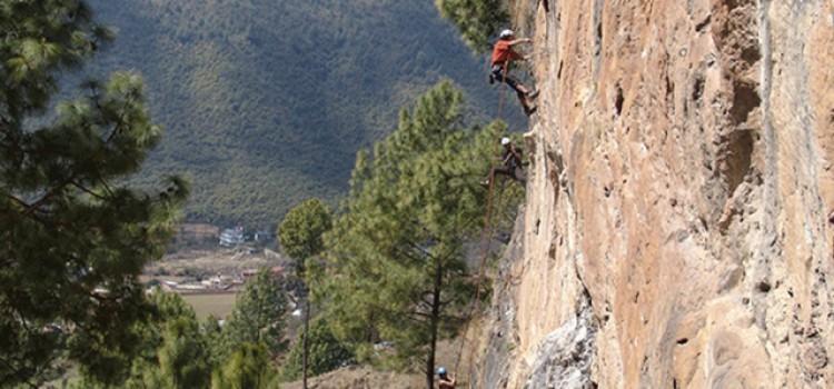 day rock climbing Kathmandu valley