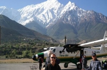 Fly Jomsom to Pokhara- Annapruna circuit trek