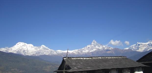 hiking walking around pokhara valley