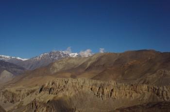 Muktinath to Jomsom- Annapurna circuit trek