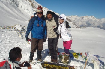 Throng La Pass- Annapurna circuit