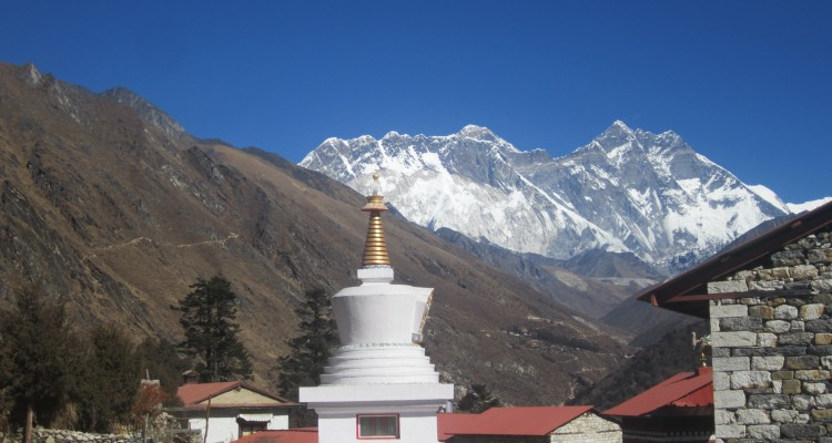 EBC trek - 10 days - Tengboche Monastery 3780m/12398ft.