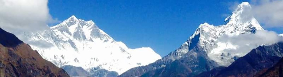 View of mount Everest is incredible.
