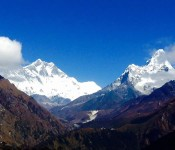 View of mount Everest is incredible