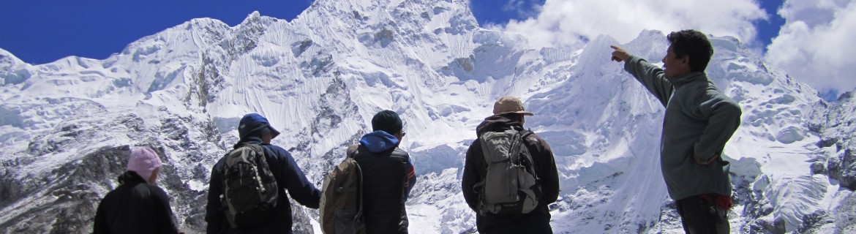 Everest base camp trekking in Himalaya Nepal