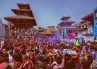 Holi festival 2018 Nepal