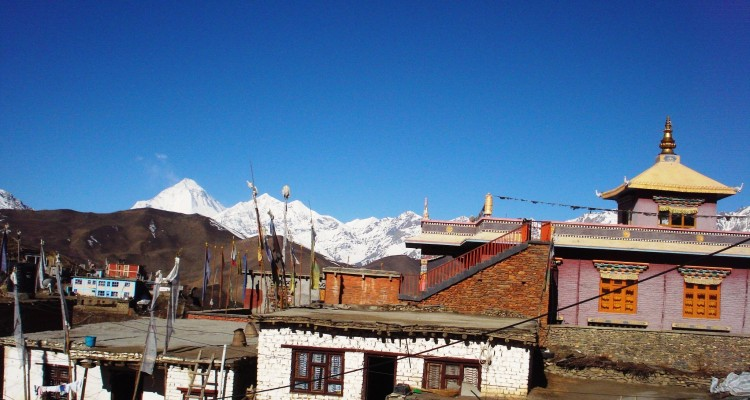 Muktinath package tour- Muktinath village(3800 m / 12467 ft)