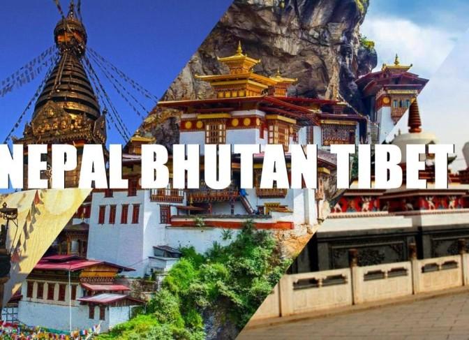 Nepal Bhutan Tibet tours