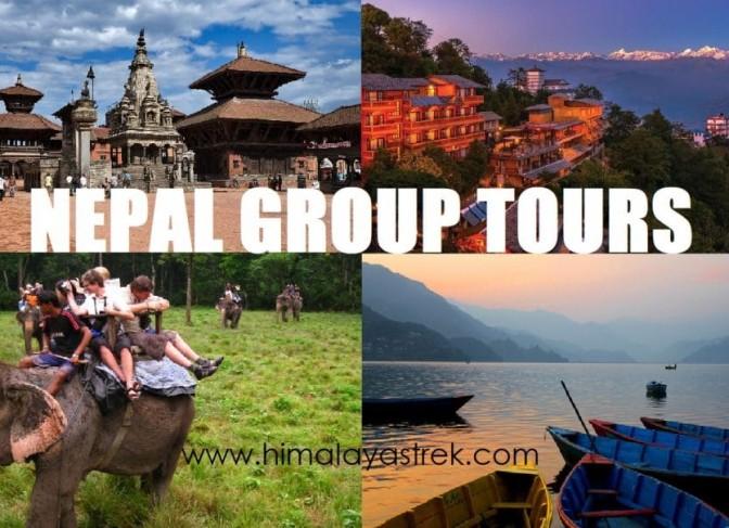 Nepal group tours