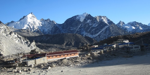 Everest base camp Trek- Gorakha shep Lodge