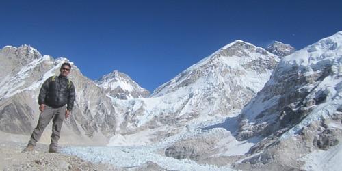 Everest base camp trek- everest base camp at 5330m