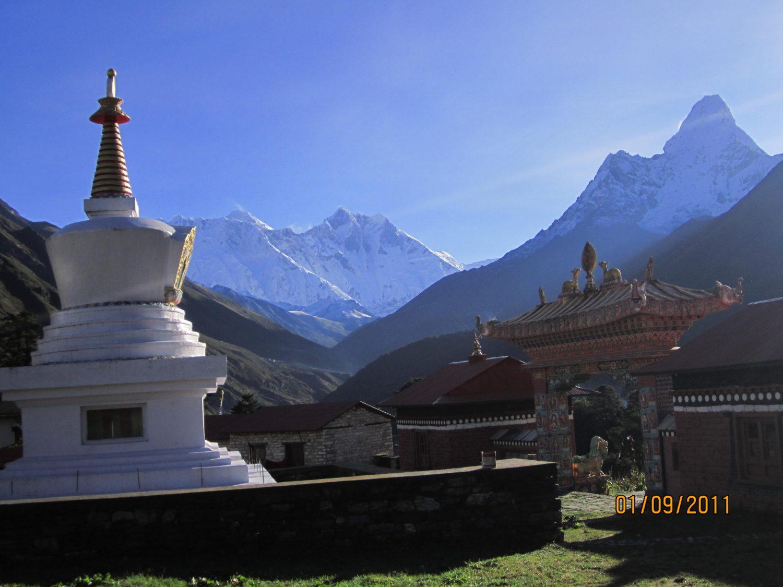 Everest Panorama Trekking - Tengboche Monastery at 3,867m.