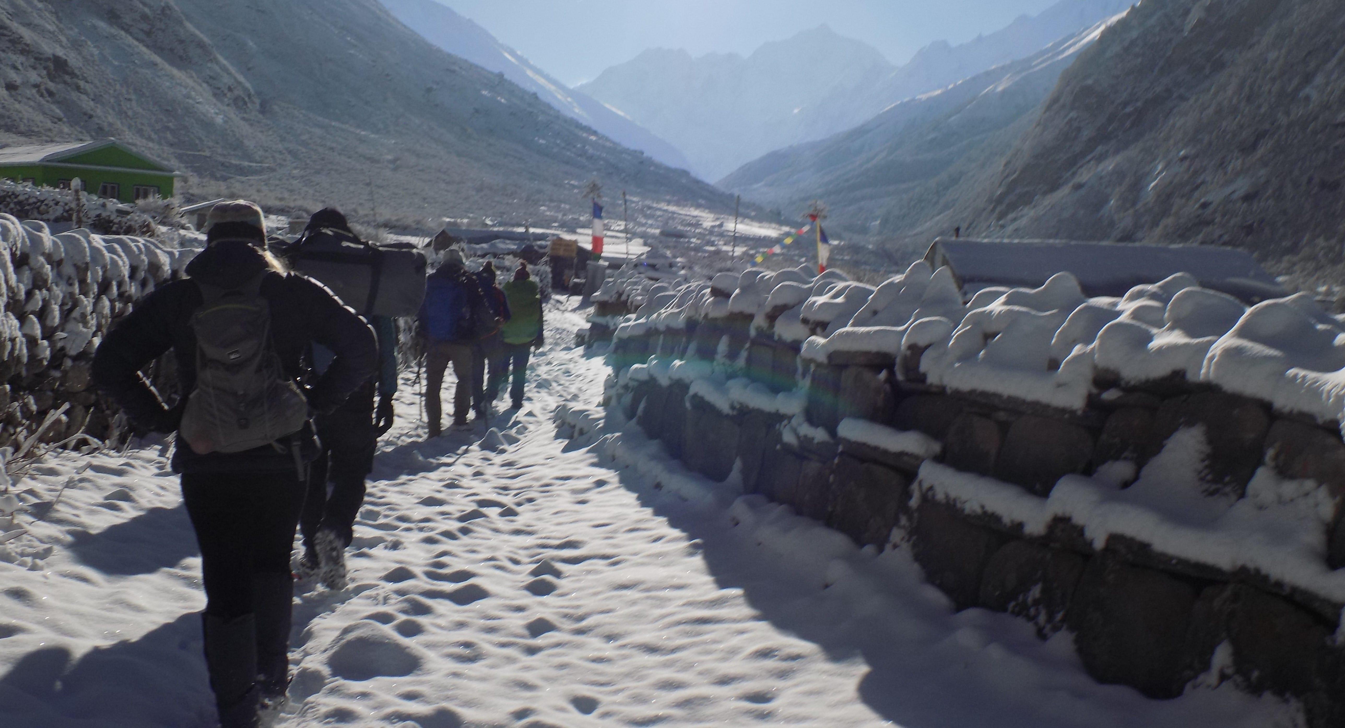 Langtang Gosaikunda trekking route