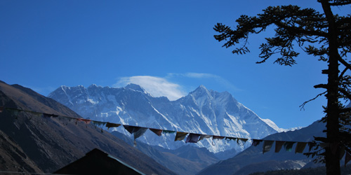 Mount Everest- Namche bazzar