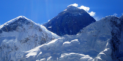 Mt Everest(8848 m) – Taken from Kalapathar(5545 m)