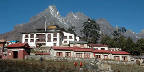 Tyangbouche Monastery in Tyangbouche