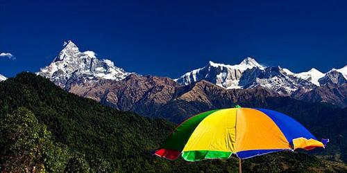 Eco Holiday in Nepal- Annapurna Mountain Range