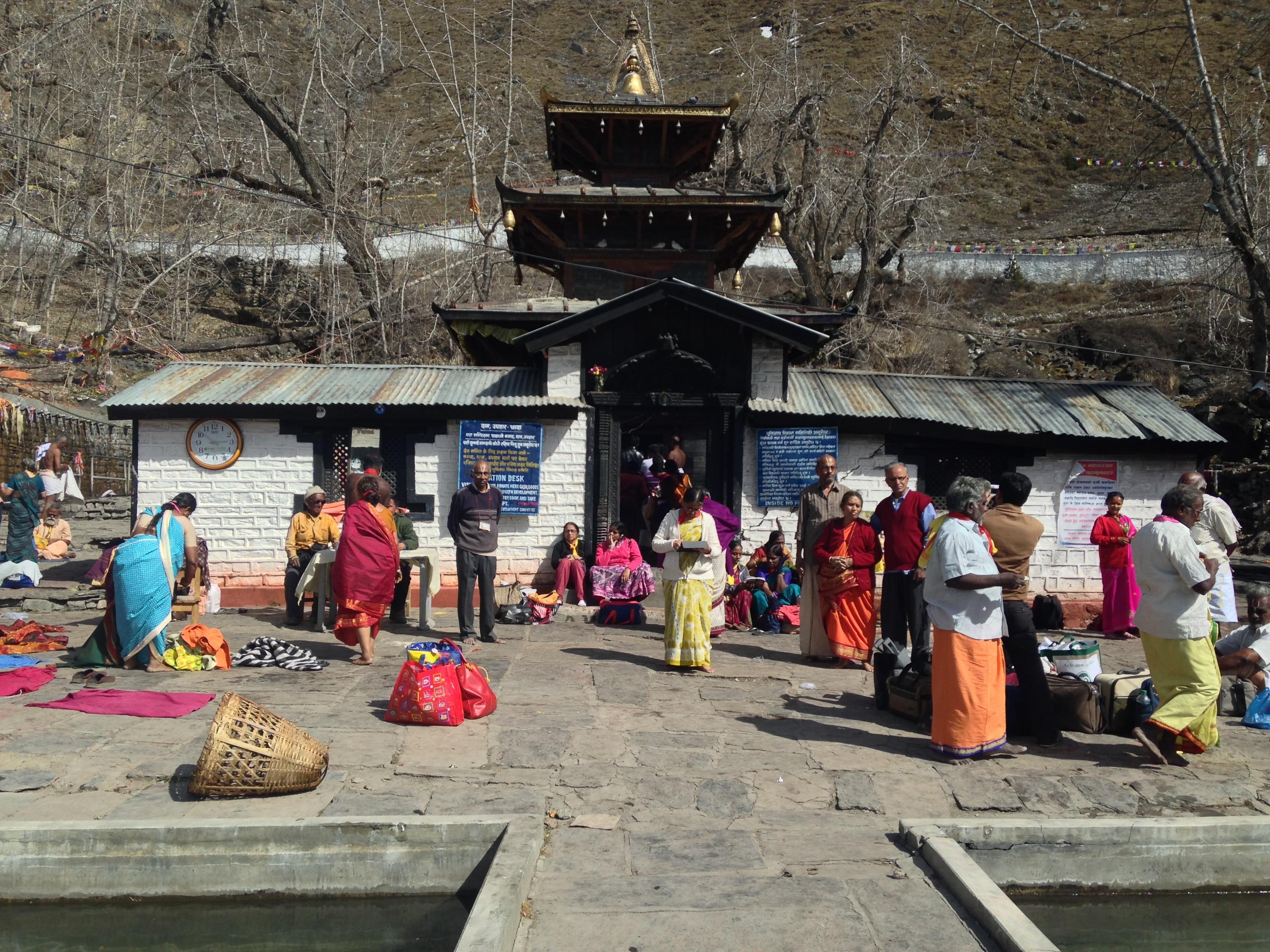 Hindu Pilgrimage Tour in Nepal- Muktinath Temple