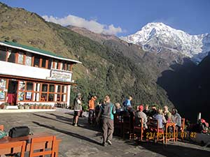 Annapurna Sanctuary and Poon Hill Trek- Chomrong Villages Tea house
