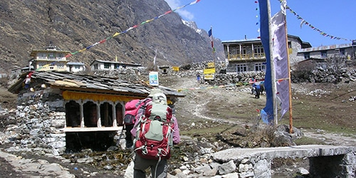Tamang Heritag Trail and Langtang Trekking- Pryers wheel and Trekking Porter