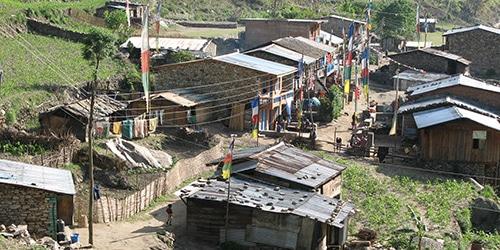 Tamang Heritage Trail langtang Trekking-Tamang village
