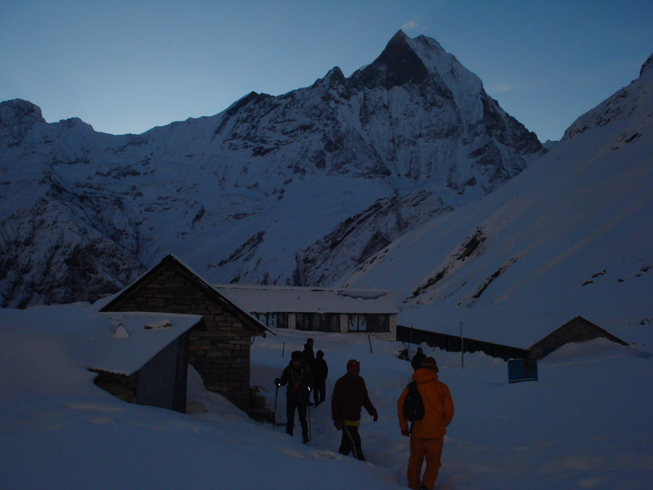 Annapurna Sanctuary and Poon Hill Trek- Annapurna base camp