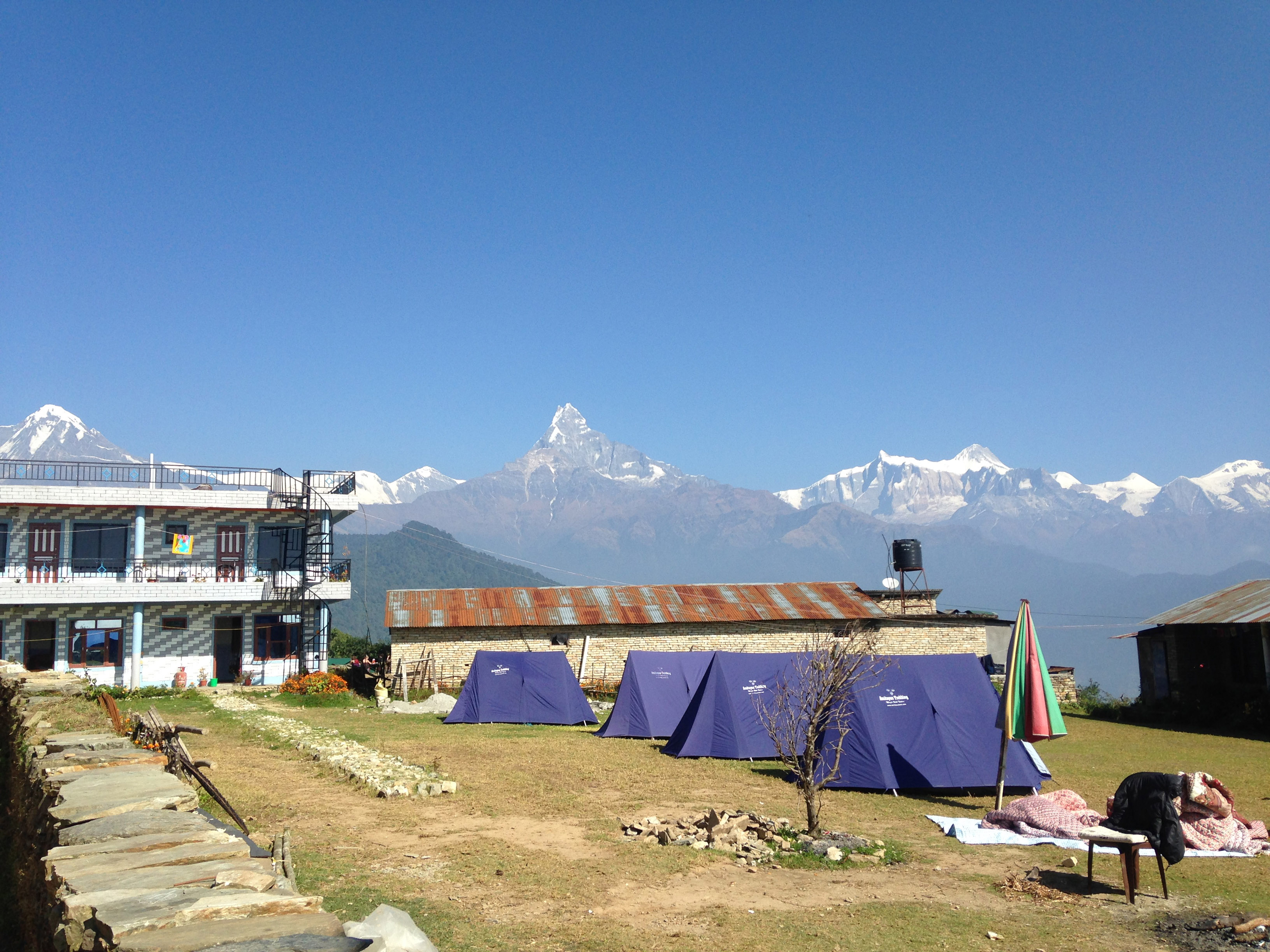 Annapurna Sanctuary and Poon Hill Trek-Australian Camp