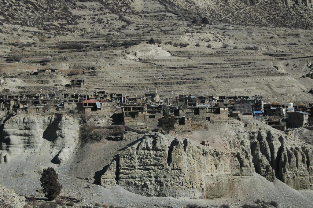 Manang landscape image