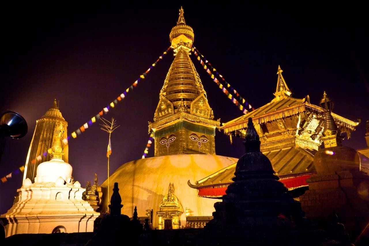 Buddhist Swayambhunath Stupa